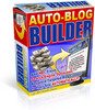 Thumbnail auto blog builder with resale rights