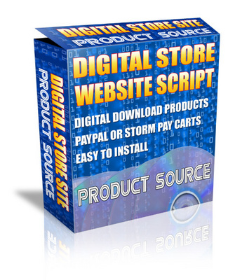 Product picture Php Digital Store Script With PLR