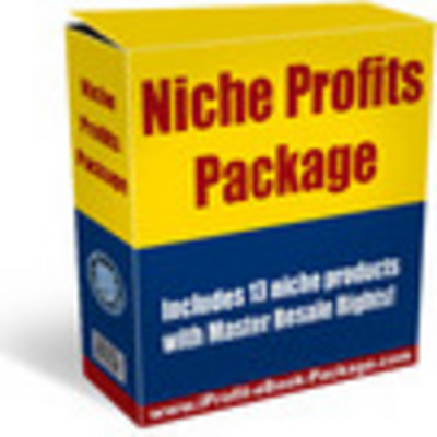 Product picture niche profits package with resale rights