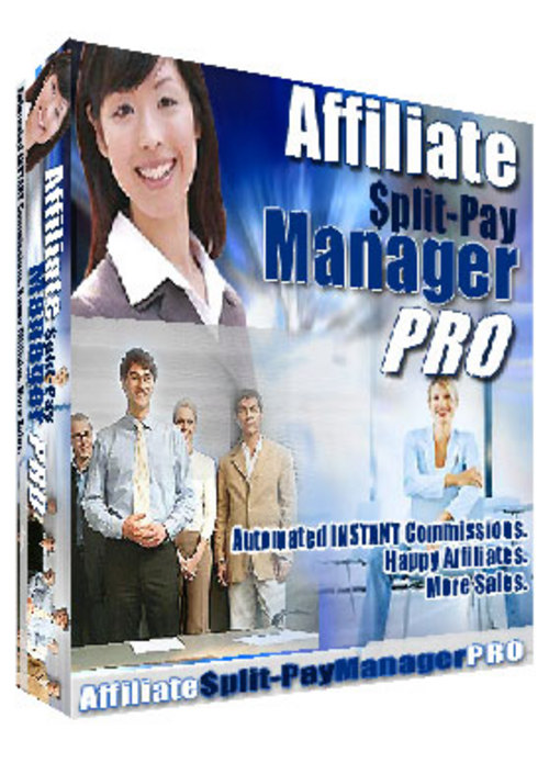 Product picture Affiliate Split pay Manager with master resale rights