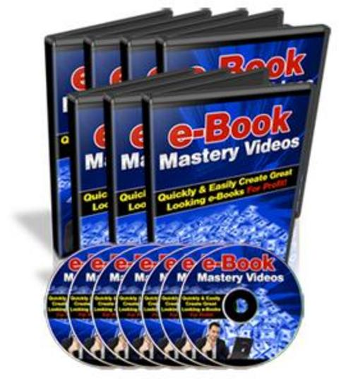 Product picture E book Mastery Videos Mrr