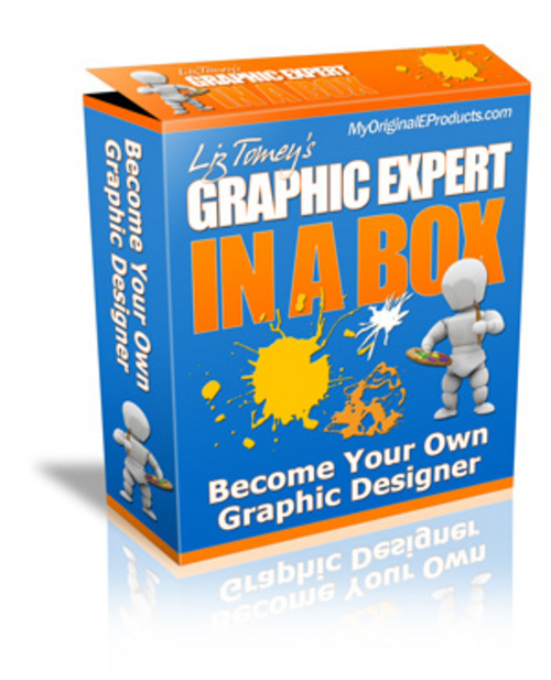 Product picture Graphic Expert In A Box With MRR