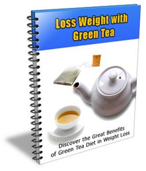 Product picture Lose Weight With Green Tea With Plr