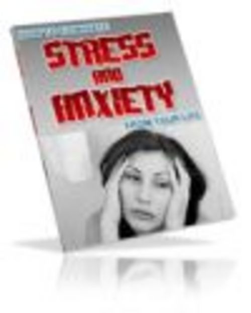 Product picture Stress And Anxiety Ebook Private Label Rights Included