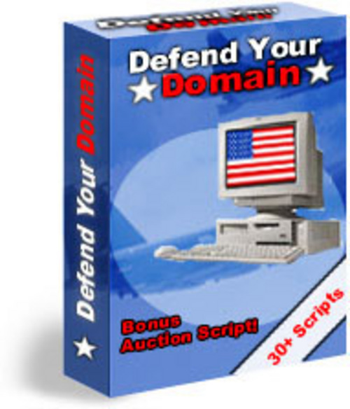 Product picture Defend Your Domain   How To Protect Your Website-mrr