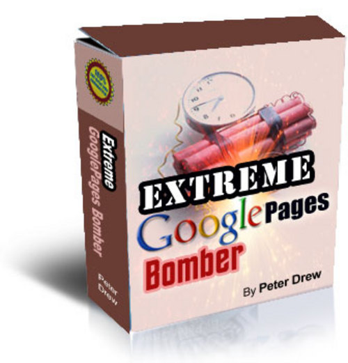Product picture Extreme Google Pages Bomber With resell Rights