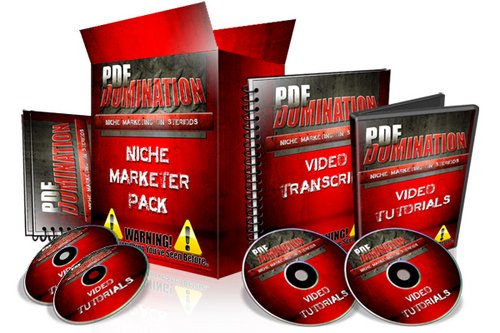 Product picture Pdf Domination With Master Resell Rights