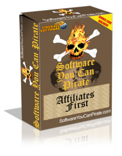 Product picture Software You Can Pirate - Affiliates First With Plr