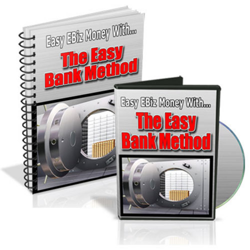 Product picture The Easy Bank Method With Master Resell Rights