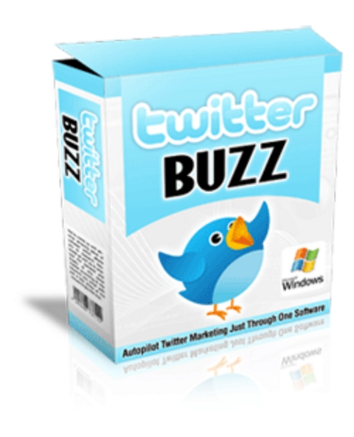 Product picture Twitter Buzz Marketing Software-Mrr included