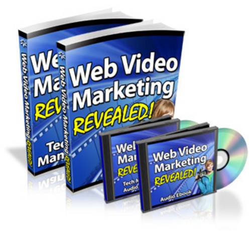 Product picture Web Video Marketing Revealed With Master Resale Rights