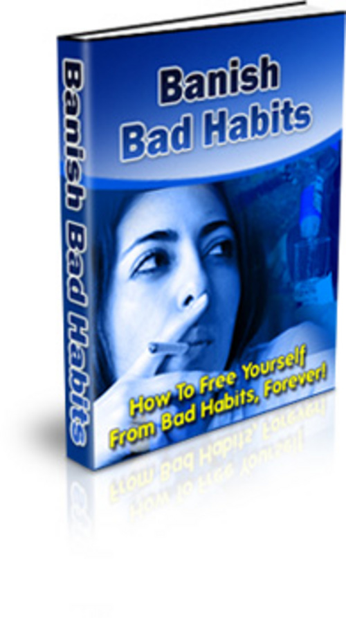 Product picture Banish Bad Habits With PLR