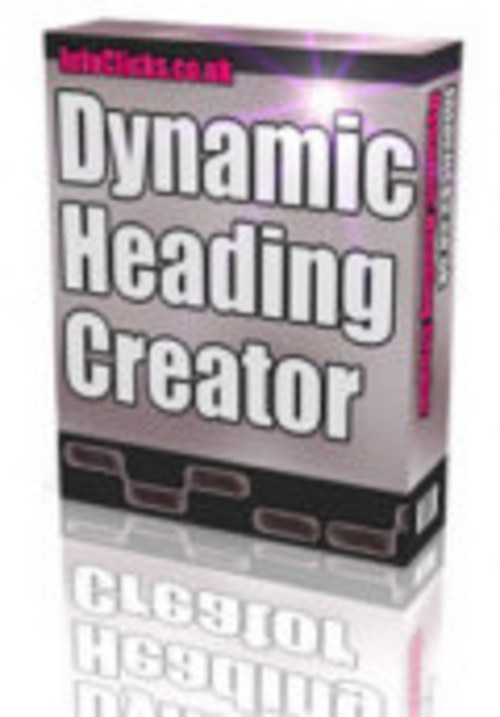 Product picture Dynamic Heading Creator with full resell rights