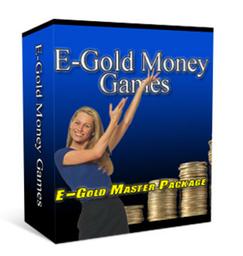 Product picture E Gold Money Games.zip