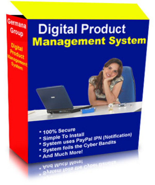 Product picture Digital Product Management System With MRR