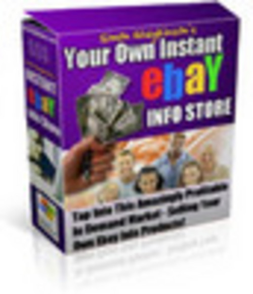 Product picture your own ebay info store
